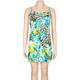 FULL TILT Animal & Floral Dress