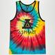 ASPHALT YACHT CLUB Tie Dye Dip N Flip Mens Tank