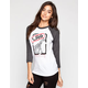 LRG Punk Love Womens Baseball Tee