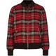 FULL TILT Plaid Girls Flannel Bomber Jacket