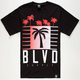 BLVD My City Mens T-Shirt