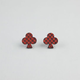 GOODWOOD NYC Checker Club Stud Earrings