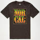 NOR CAL Rastafied Mens T-Shirt