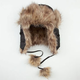 Quilted Womens Trapper Hat