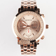 GENEVA Rhinestone Chrono Watch