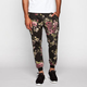 ELWOOD Pixelated Floral Print Mens Jogger Pants