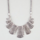 FULL TILT Geometric Paddle Statement Necklace
