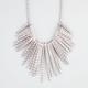 FULL TILT Textured Sticks Statement Necklace