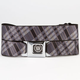 BUCKLE-DOWN Caddie Plaid Buckle Belt