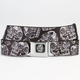 BUCKLE-DOWN Day Of The Dead Mens Buckle Belt