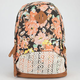 Olivia Floral Crochet Backpack