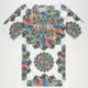 HYPE Prism Parrot Mens T-Shirt