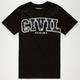 CIVIL Block Mens T-Shirt