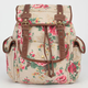 ZOE BLU Floral Print Backpack