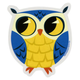 Blue Owl Sticker