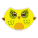 Yellow Owl Sticker