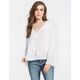 BILLABONG Speak Slowly Womens Peasant Top