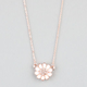 FULL TILT Rhinestone Daisy Necklace