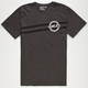 HURLEY Beveled Badge Mens T-Shirt
