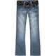 YMI Belted Womens Bootcut Jeans