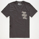 HURLEY Banzer Mens Pocket Tee