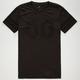 SHOUTHOUSE Black Lights Mens T-Shirt