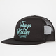 YOUNG & RECKLESS Thugs & Kisses Womens Trucker Hat