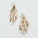 FULL TILT Feather Chandelier Earrings