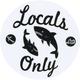 LOST Locals Only Sticker