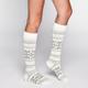 FULL TILT Fairisle Womens Knee High Socks