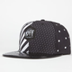 NEFF Black N White Mens Snapback Hat