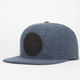 US VERSUS THEM Quilted Chambray Mens Snapback Hat