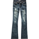 ALMOST FAMOUS Destructed Womens Bootcut Jeans