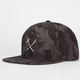 US VERSUS THEM Crosscut Full Metal Mens Snapback Hat