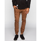 CRASH Mens Chino Jogger Pants