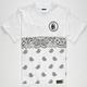 LAST KINGS Paisley Tut Boys T-Shirt