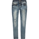 ZCO Heavy Stitch Girls Skinny Jeans