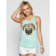 LIRA Two Face Womens Muscle Tank