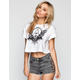 LIRA Birds Eye Crop Tee