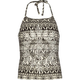 FULL TILT Ethnic Print Girls Smock Halter Top