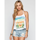 FULL TILT Choose Your Own Path Womens Halter Top