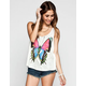 FULL TILT Butterfly Womens Swing Tank