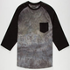 RETROFIT Spray Wash Mens Baseball Tee