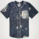 CIVIL Floral Star Mens Baseball Jersey