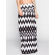FULL TILT Ethnic Diamond Print Maxi Skirt