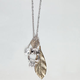 FULL TILT Owl Leaf Necklace