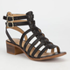 CITY CLASSIFIED Tab Womens Fisherman Sandals