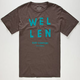 WELLEN California Surf Mens T-Shirt