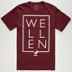 WELLEN Square Mens T-Shirt