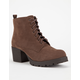 SODA Nevitt Womens Military Boots